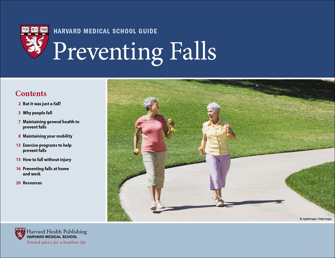 Preventing Falls Cover