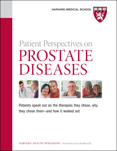 Patient Perspectives on Prostate Diseases Cover