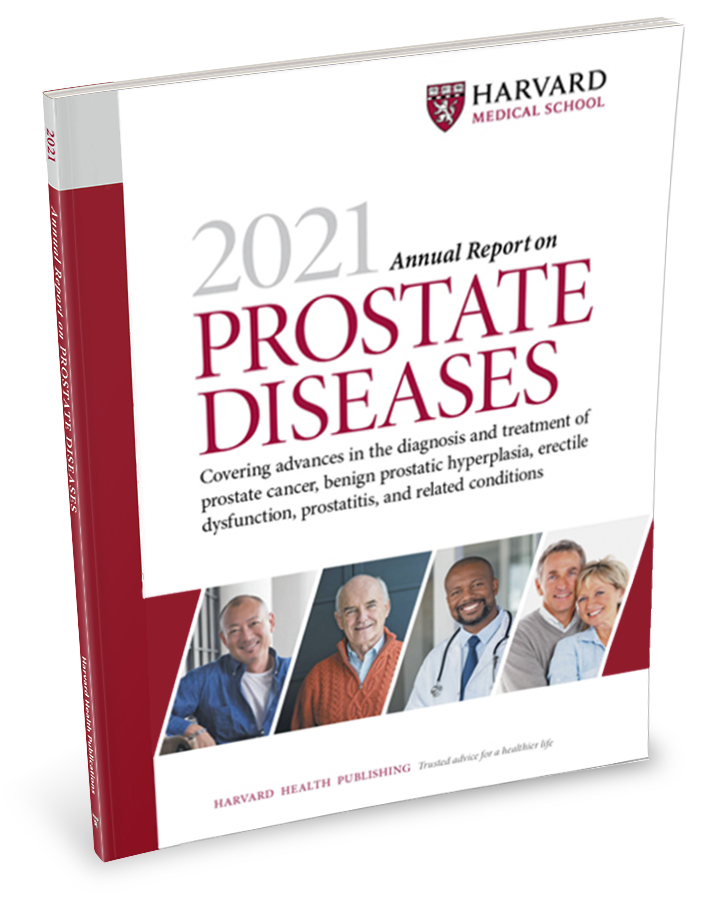 2021 Annual Report on Prostate Diseases Cover