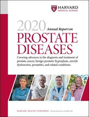 2020 Annual Report on Prostate Diseases Cover