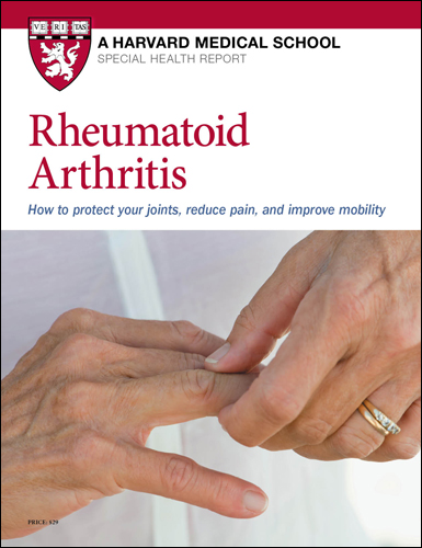 Rheumatoid Arthritis: How to protect your joints, reduce pain, and improve mobility Cover