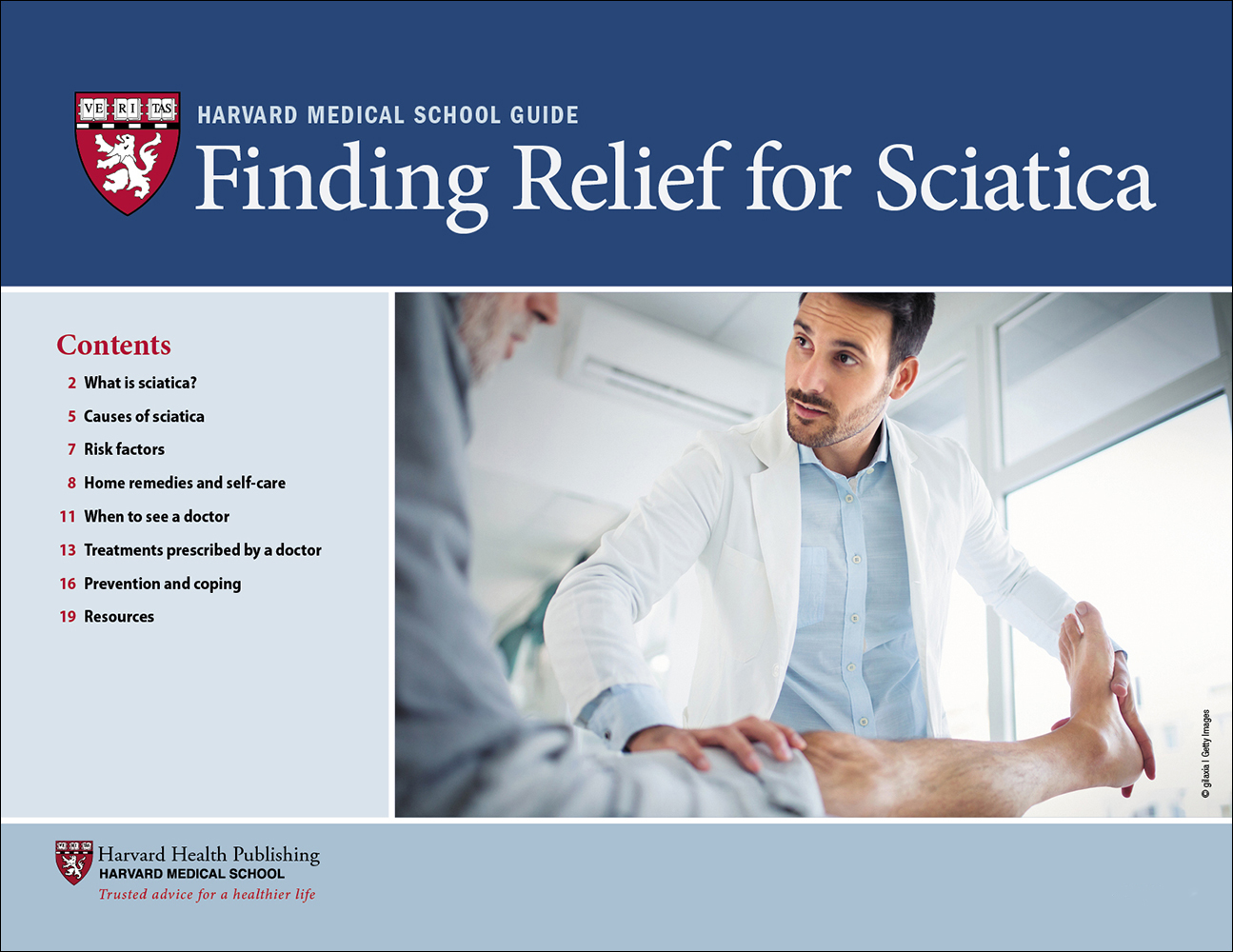 Finding Relief for Sciatica Cover