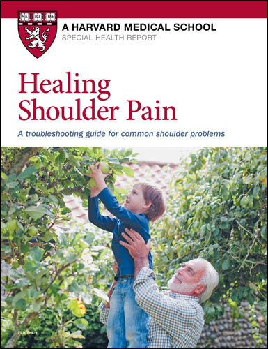 Healing Shoulder Pain: A troubleshooting guide for common shoulder problems Cover