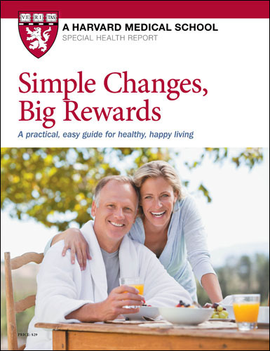 Simple Changes, Big Rewards: A practical, easy guide for healthy, happy living Cover