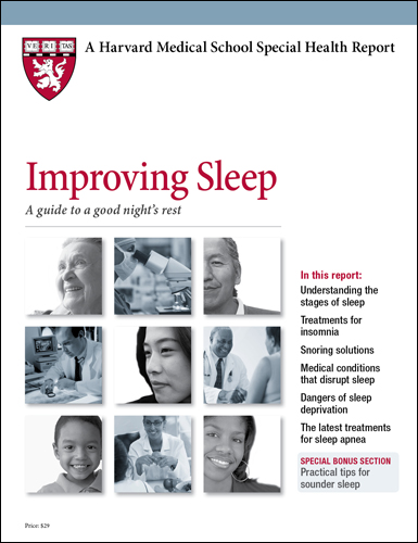 Improving Sleep: A guide to a good night's rest Cover