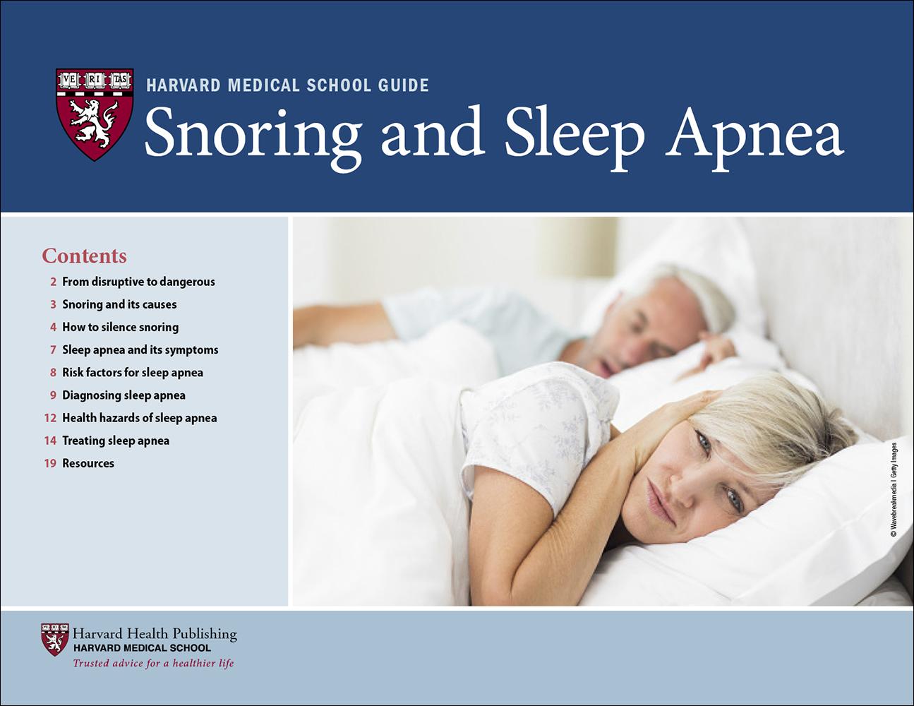 Snoring and Sleep Apnea Cover