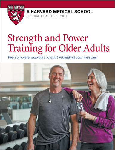 Strength and Power Training for Older Adults Cover