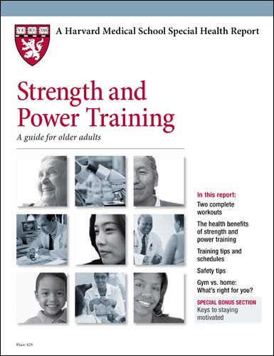 Strength and Power Training: A guide for older adults