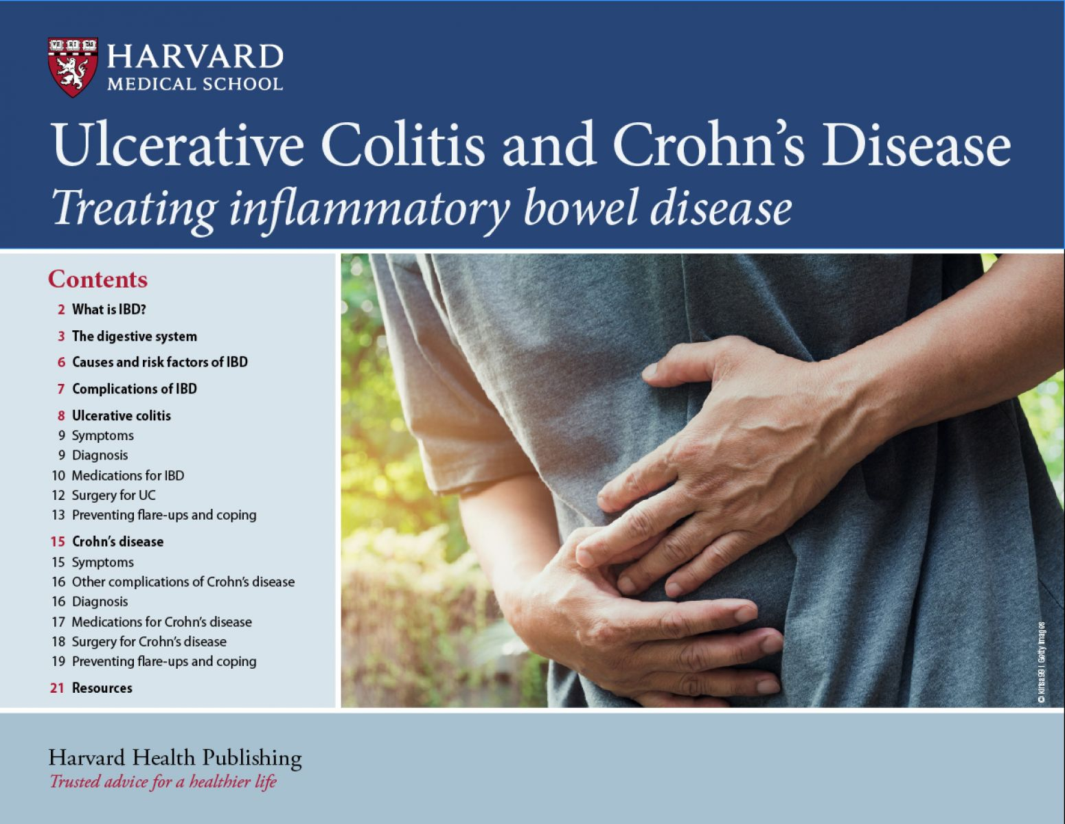 Ulcerative colitis and Crohn's disease Cover