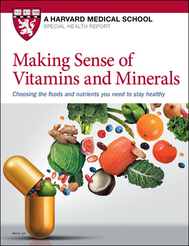 Making Sense of Vitamins and Minerals Cover