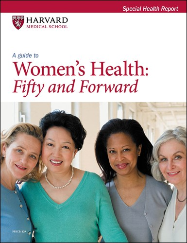 A Guide to Women's Health: Fifty and forward Cover