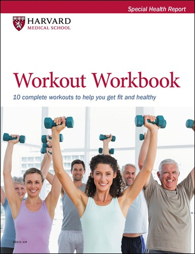 Workout Workbook: 9 complete workouts to help you get fit and healthy Cover