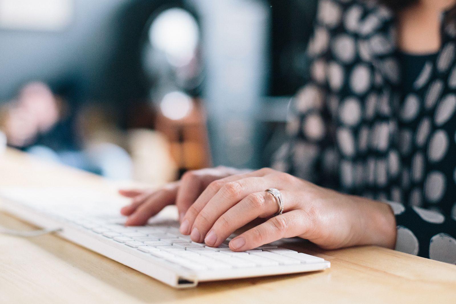 keyboard-typing-working-exercise