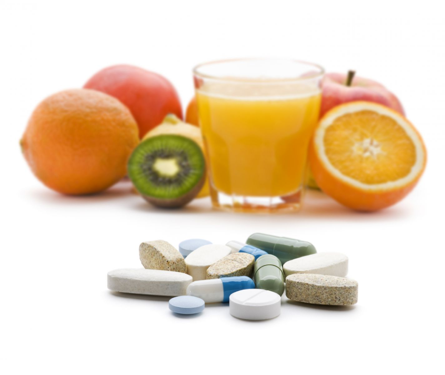 Best source of vitamins? Your plate, not your medicine cabinet