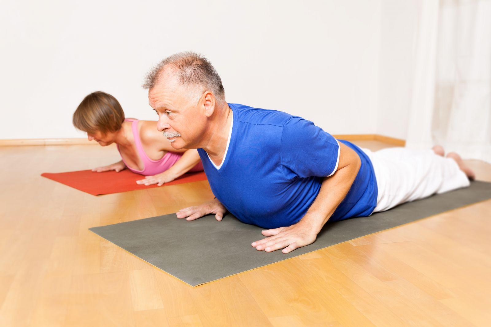 Yoga with arthritis