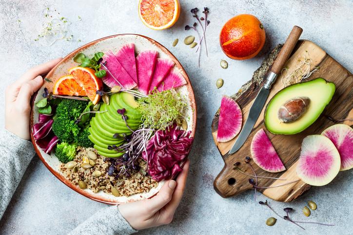 vegan-food-bowl