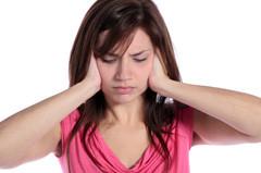 Woman-tinnitus