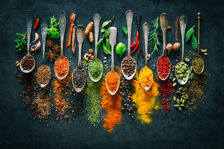 21 spices for healthy holiday foods