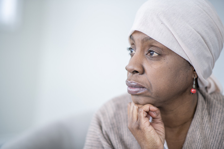 older-African-American-woman-looking-thoughtful