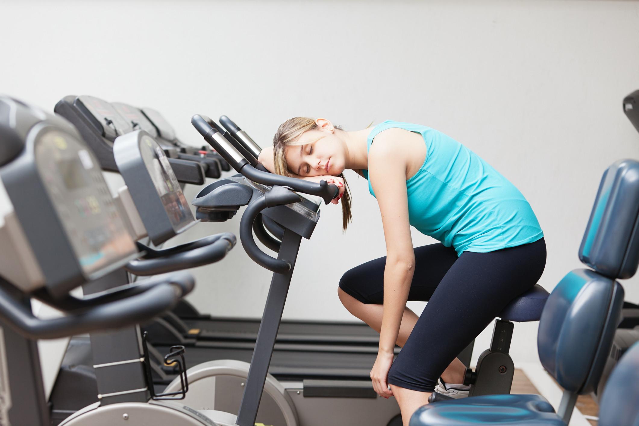 But I don't feel like exercising…