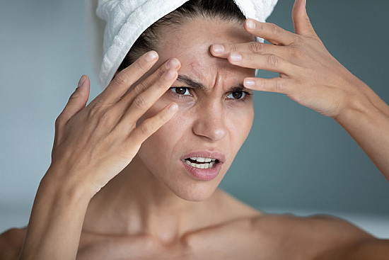 Stress may be getting to your skin, but it's not a one-way street featured image