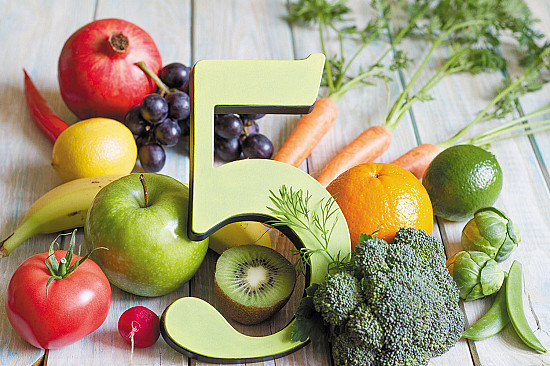 Five a day for better health featured image