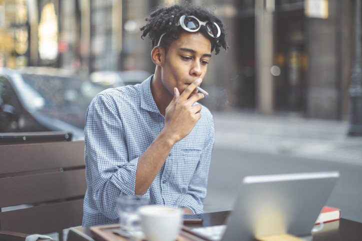 Smoking more than doubles heart risk among African Americans