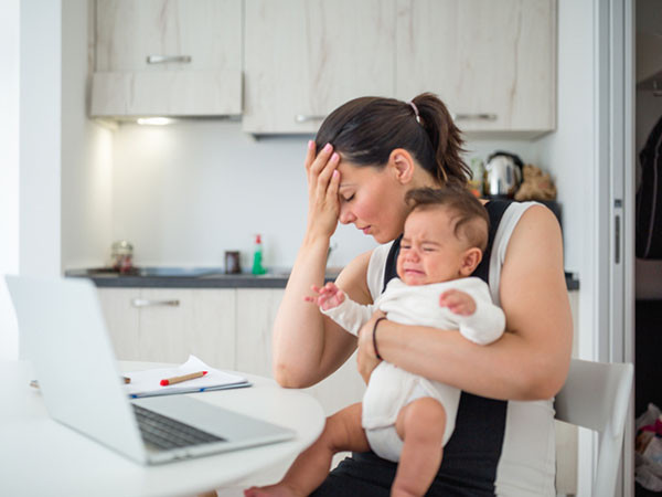 Postpartum anxiety is invisible, but common and treatable