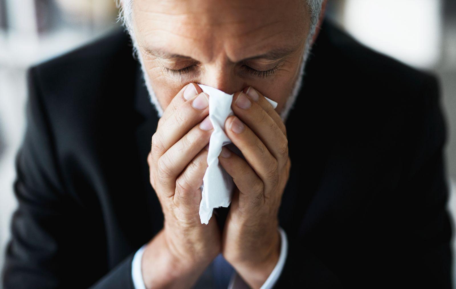 itchy nose allergic rhinitis