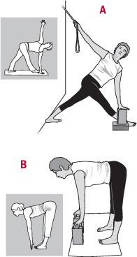 illustration of Iyengar yoga poses