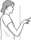 illustration of finger walk exercise