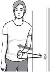 illustration of inward rotation exercise