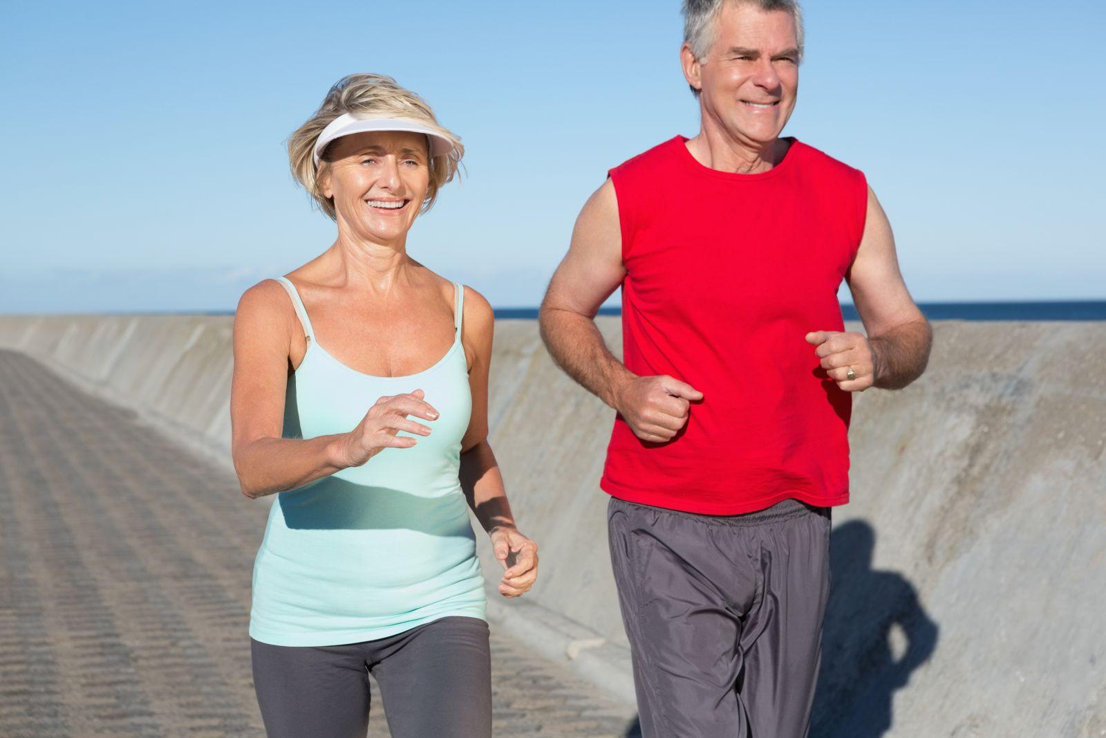 active seniors running