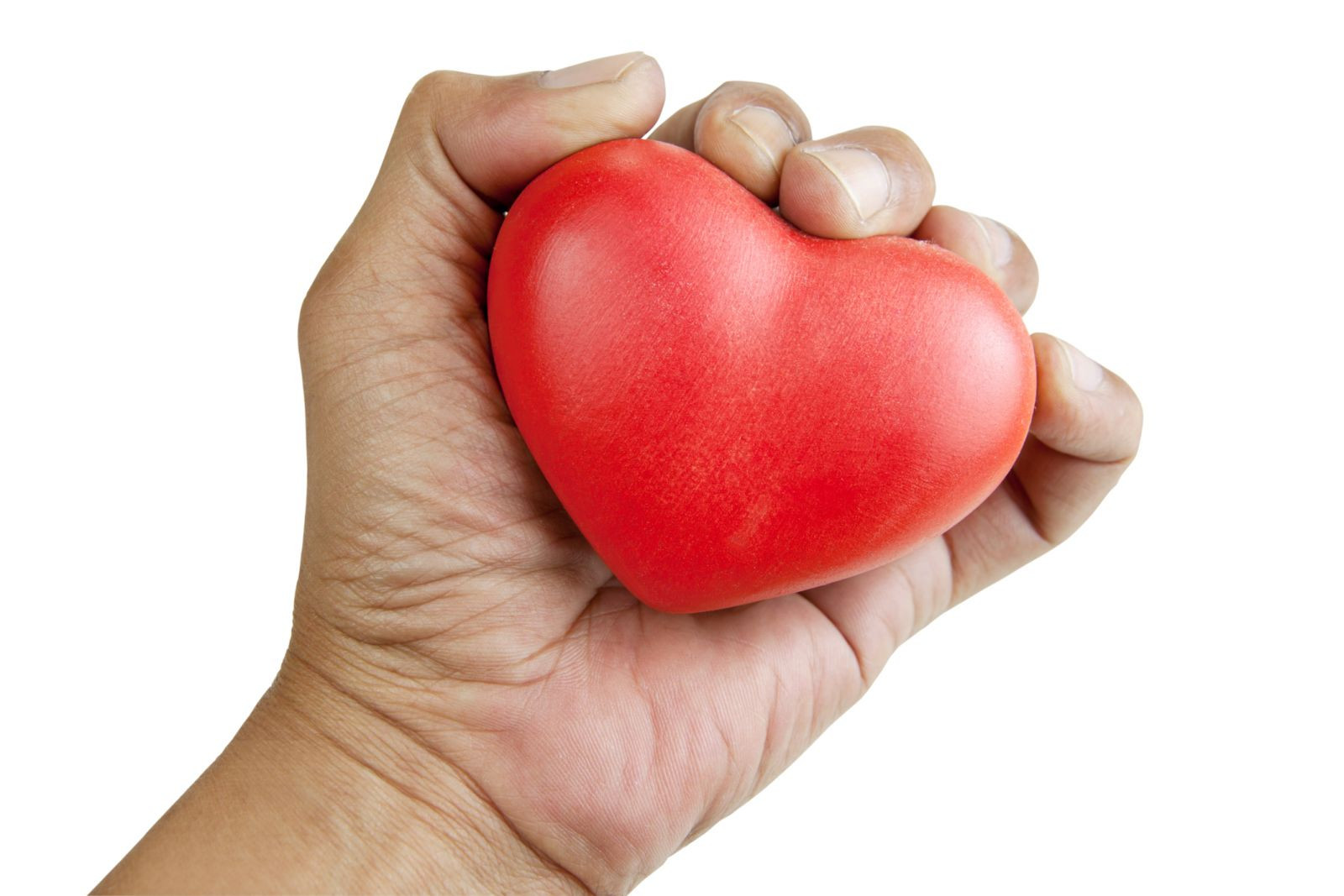 strong hands linked to healthier heart