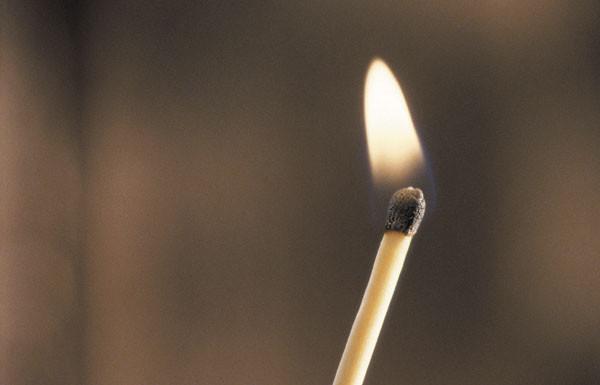 inflammation match fire