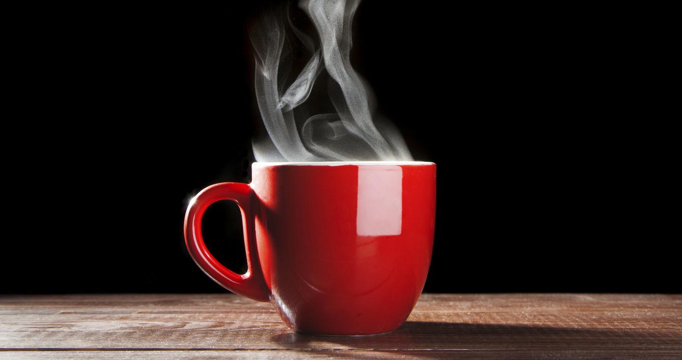 beverage temperature hot coffee