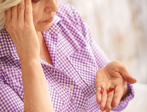 medication side effects or aging