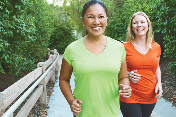 walking program reduced disability