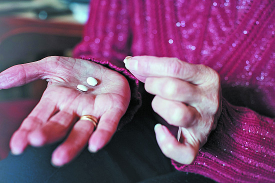 Blood pressure drugs may extend life even for frail, older people featured image
