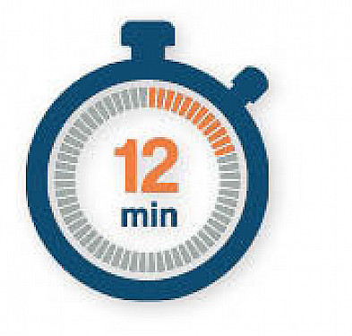 12 minutes of exercise might lower risks for heart disease and diabetes featured image