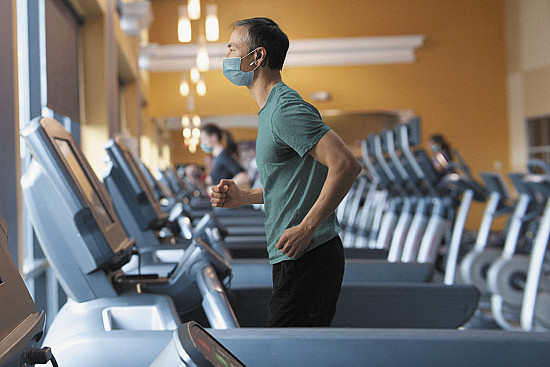 Face masks don't affect exercise breathing featured image