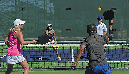 The powerful play of pickleball featured image