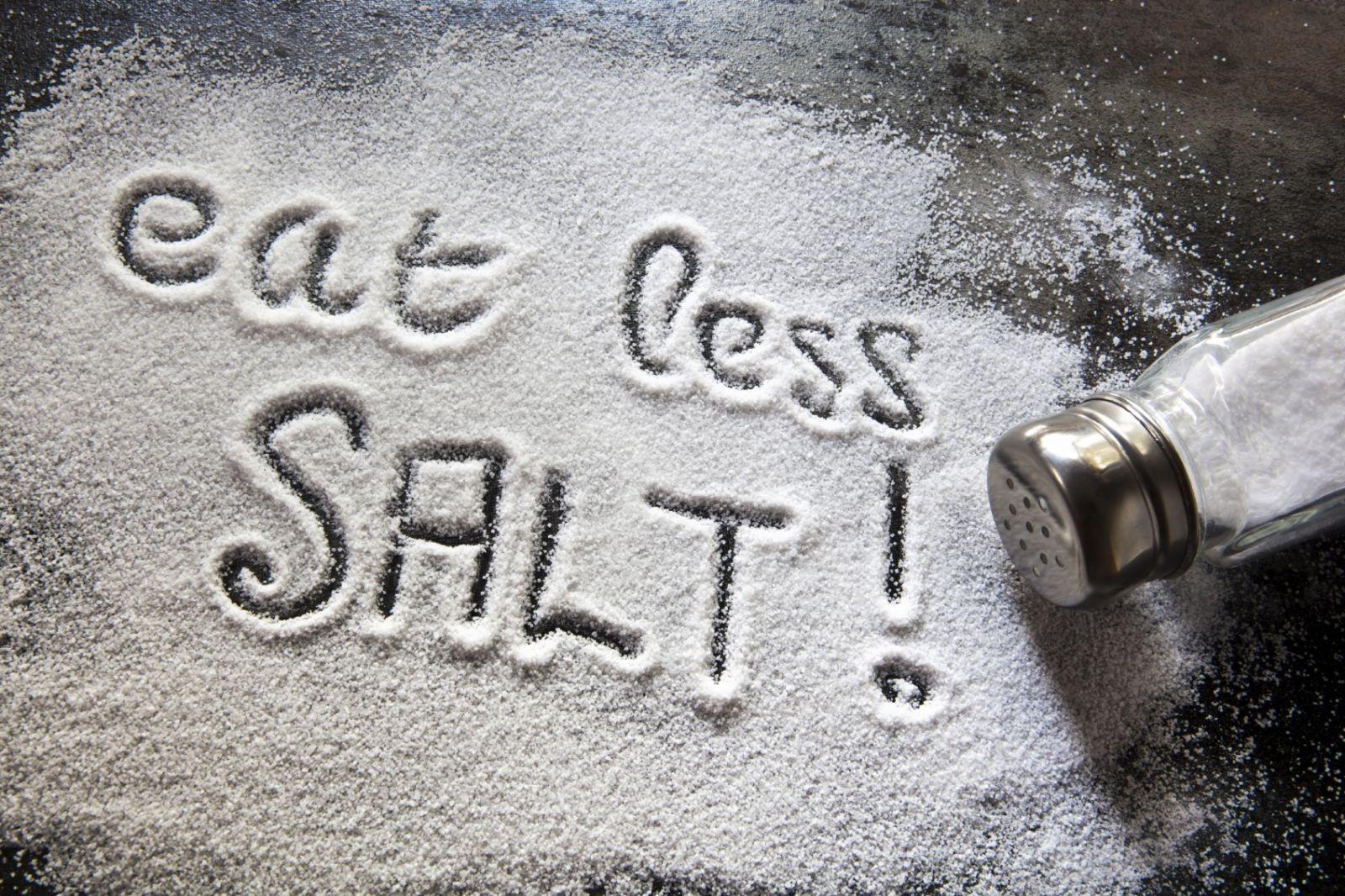 use less salt