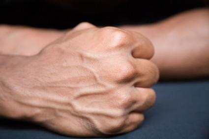 cracking knuckles