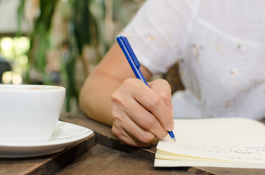 journal writing to help grief and loss