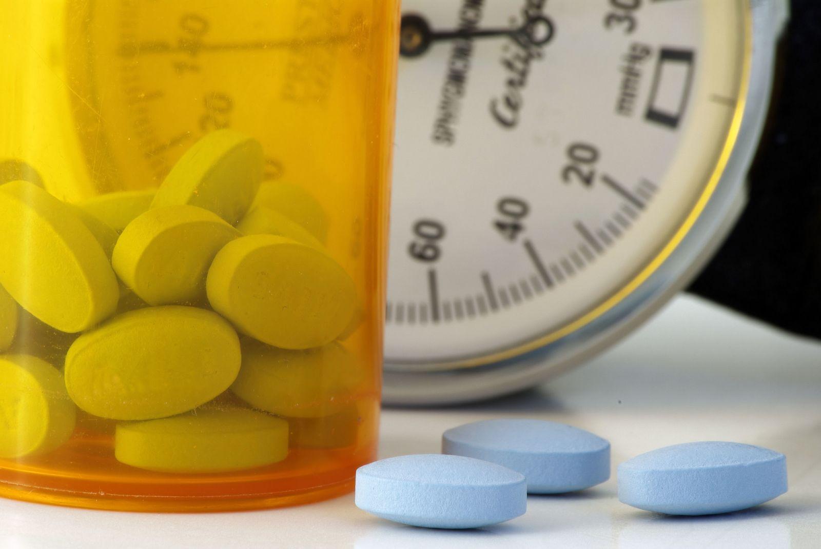 blood pressure drugs and ED