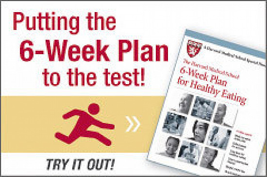 Harvard 6-Week Plan for Healthy Eating goes live! You can participate, too featured image