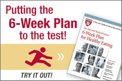 Testing the Harvard 6-Week Plan for Healthy Eating: Reality strikes on the Jersey Turnpike