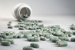 Pills-spilled