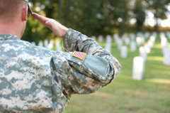 Soldier-saluting-flags
